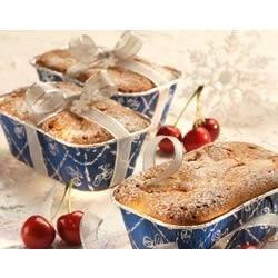 Holiday Mini Cherry Pound Cakes
