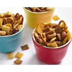 Original Chex(R) Party Mix Recipe and Video - Still great after all these years!  Chex(R) party mix has been a party staple for 50 years.