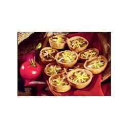 Jimmy Dean Southwestern Sausage Tarts Recipe - A snap to make, these Southwest-style egg, sausage, Cheddar, and salsa tarts are perfect for brunch or as party appetizers.