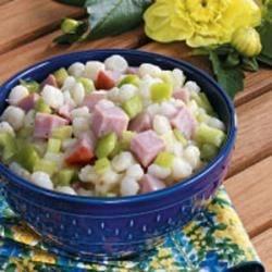 Ham 'N' Hominy Salad