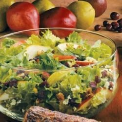 Cranberry-Pear Tossed Salad