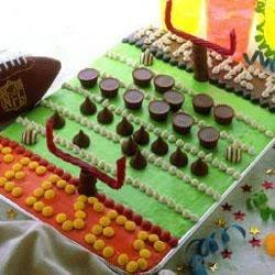 Hershey's ® Gridiron Cake