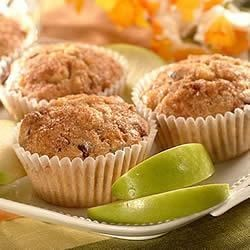 Apple Cranberry Wheat Muffins