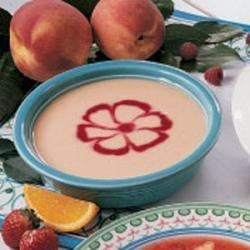 Pretty Peach Soup
