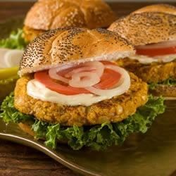 BUSH'S® Pumpkin Bean Burgers