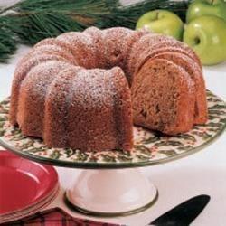 Walnut Apple Bundt Cake