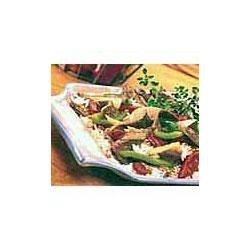 Easy Pepper Steak Recipe - When it comes to stir-fries, Swanson(R) Broth is a key ingredient for sauces to glaze the tender-crisp vegetables and cooked meats.