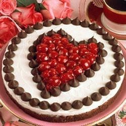 Covered with Kisses Chocolate-Cherry Torte