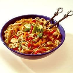 Chicken Fajita Pasta Toss