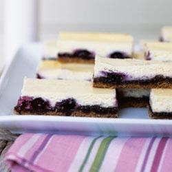 Blueberry Cheesecake Bars