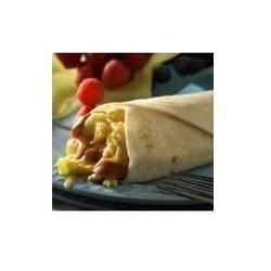 Hot Dog Breakfast Burrito