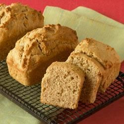 JIF(R) Peanut Butter Bread Recipe - A slice of this easy peanut butter bread makes a great after-school snack as-is or spread with your favorite jam.