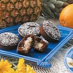 Chocolate Macaroon Cupcakes