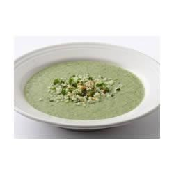 Very Green Broccoli Soup Recipe - This creamy, delicate mixture of Progresso® chicken broth and broccoli will add rich layers of flavor and make you a hero among guests!