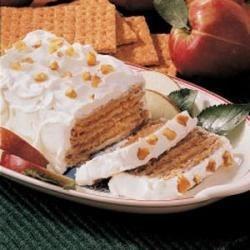 Apple Graham Dessert