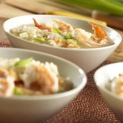 Brothy Shrimp and Rice Scampi