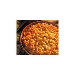 Crispy Macaroni and Cheese Recipe - Everyone's favorite creamy macaroni dish is topped with crunchy French fried onions.