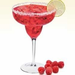 Sauza(R) Raspberry Margarita Recipe - Enjoy the fruity, tangy flavor of raspberry in this summery margarita made with flowery white tequila and served on ice.