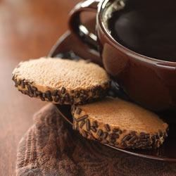 Coffee Spice Cookies Recipe - Coffee and spice and everything nice--that's what these tasty cookies are made of.
