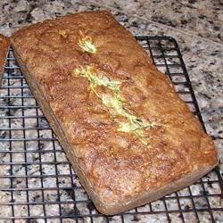 Zucchini Bread with Lemon Zest