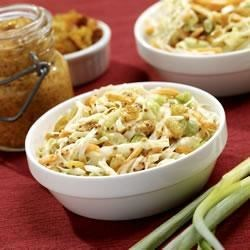 Coleslaw with Grainy Mustard