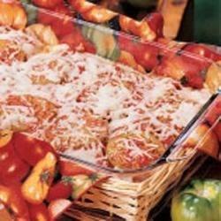 Fried Green Tomato Lasagna