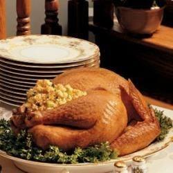 Turkey with Corn-Bread Dressing