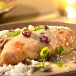 Saucy Cranberry Orange Chicken