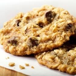Clementine's Oatmeal Chocolate Chip Cookies Recipe - These cookies are packed with flavor, including cinnamon, nutmeg, nuts and luscious Ghirardelli Semi-Sweet Chocolate.