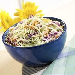 Marzetti(R) Famous Coleslaw Recipe - What could be quicker? This tasty slaw combines shredded cabbage with creamy Marzetti(R) Slaw Dressing. Voila! It's just that simple.