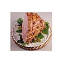 Baked Ham With Spiced Sugar Rub