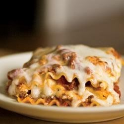 Simply Lasagna Recipe - Flavorful enough for a celebration but easy enough for the everyday.
