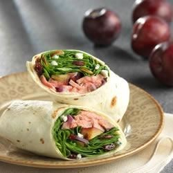 Grilled Steak Wraps Recipe - Heat up the grill and make these quick, tasty steak and spinach wraps today!