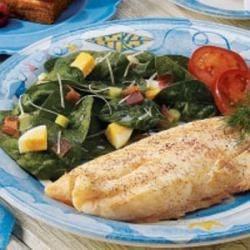 Italian Spinach Salad