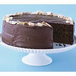 Best Ever Chocolate Fudge Layer Cake Printer Friendly