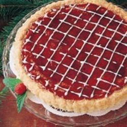 Raspberry Almond Tart