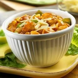 Southwest White Chicken Chili Recipe - Got 30 minutes and a craving for good chili? Then get out your saucepan, because this chicken chili really satisfies.