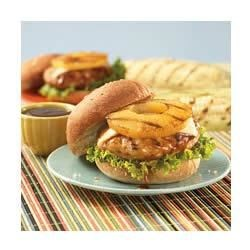 Teriyaki Pineapple Turkey Burgers Recipe - Pineapple and teriyaki transform these turkey burgers from ordinary to delicious!
