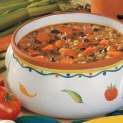 Beef 'n' Black Bean Soup