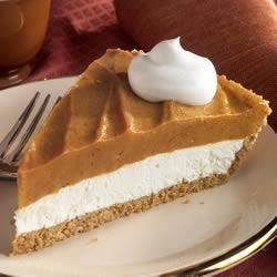 Double-Layer Pumpkin Pie