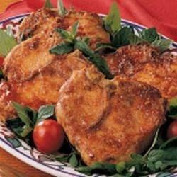 Maple-Glazed Pork Chops