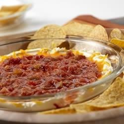 Sunset Dip Recipe - Keep these ingredients on hand so you can serve this fabulous dip any time. Each time, try a different flavored Pace(R) Salsa.