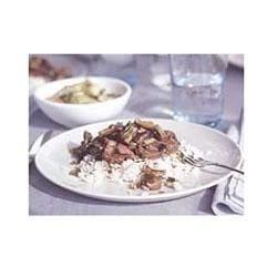 Hoisin Beef with Shiitake Mushroom Sauce