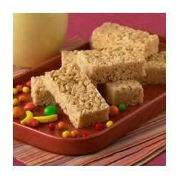 Jif(R) Crispy Treats Recipe - These peanut butter crisp rice treats are a great snack anytime.