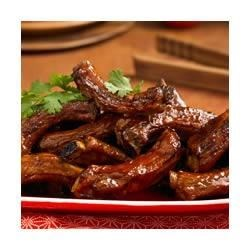 Chinese Spareribs Recipe - The sweet, tangy sauce on these ribs--with honey, sherry, ginger and soy sauce--will make these spareribs a new family favorite.