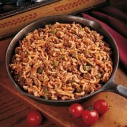 Skillet Beef and Macaroni