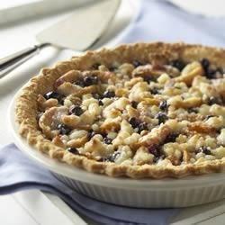 Fresh Peach 'n Blueberry Pie