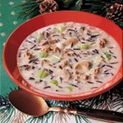 Beefy Wild Rice Soup