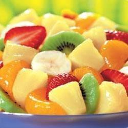 Honey-Lime Fruit Toss