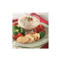 Shrimp Dip Recipe - A creamy dip made with shrimp soup, cream cheese and hot sauce is perfect for scooping with veggies or crackers.